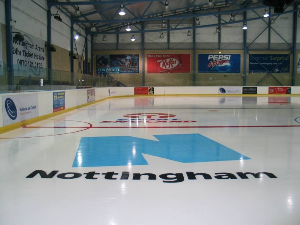 Ice Rink Capital Letter